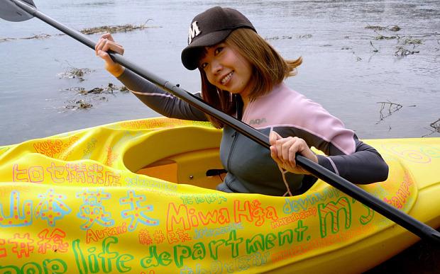 Kayak y artista