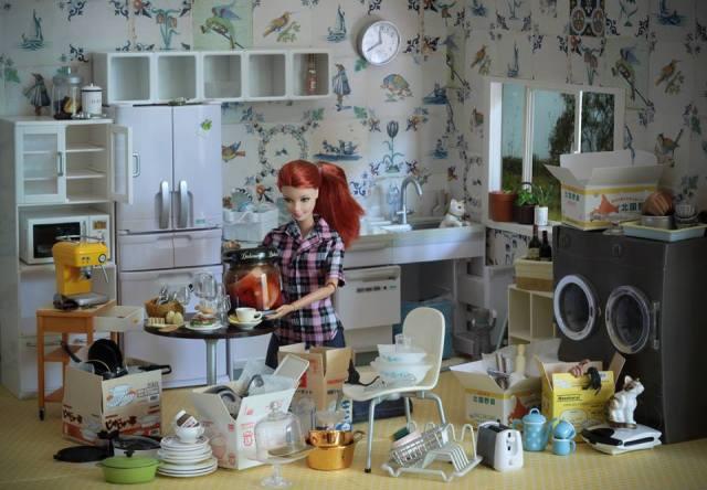 Bad Barbie vía Facebook 'the photography MARIEL/CLAYTON'